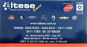 Altese Rj Barra Da Tijuca Shopping Dos Carros